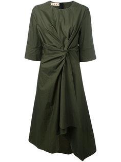 драпированное платье Marni