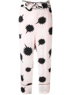 пижамные брюки с завязкой на бант Diesel