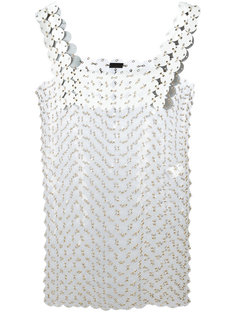 ring appliqué dress Paco Rabanne