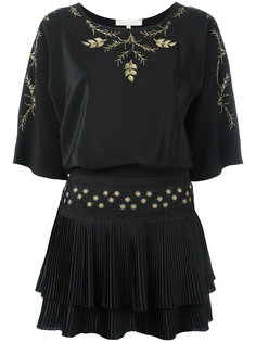 платье с растительной вышивкой Vanessa Bruno