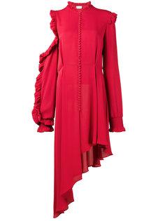 асимметричное платье с открытым плечом Magda Butrym