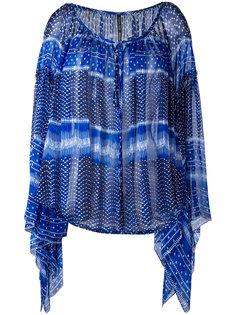 драпированная блузка Plein Sud