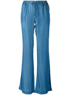 расклешенные брюки с эластичным поясом Michael Michael Kors