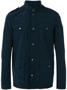куртка в военном стиле с пуговицами Armani Jeans
