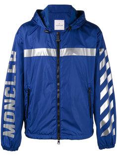 спортивная куртка с полосками на рукавах Moncler X Off-White