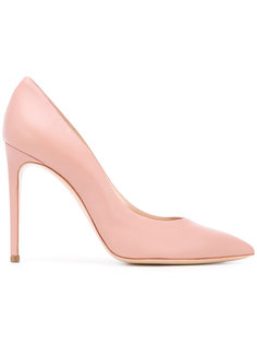 туфли на заостренным носком Casadei