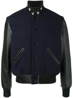 куртка-бомбер teddy etoile Saint Laurent