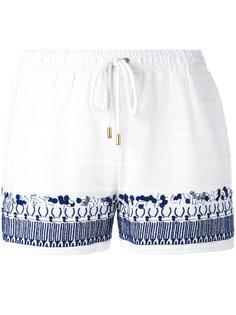 шорты с вышивкой Michael Michael Kors