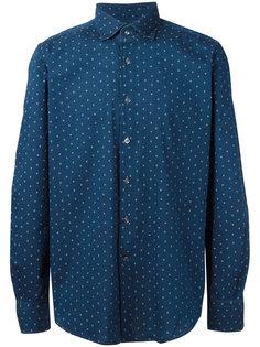 рубашка с мелким узором Glanshirt