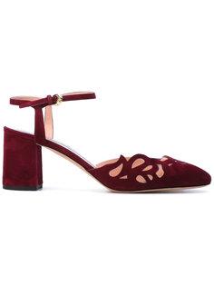 туфли с перфорацией Rochas