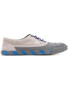 кроссовки с полосками на подошве Lanvin
