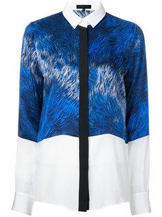 рубашка с потайной застежкой и принтом  Barbara Bui