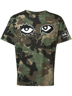 camouflage print T-shirt  Haculla