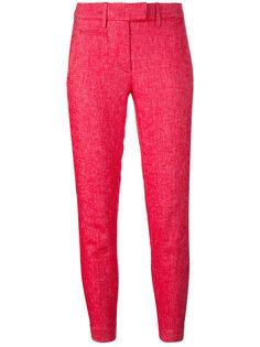 укороченные брюки слим Dondup