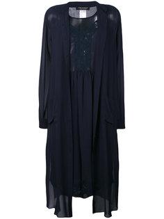 полупрозрачное платье-рубашка Twin-Set