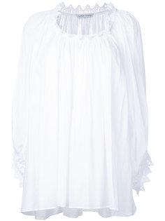 блузка с вырезом-ковшом Tsumori Chisato