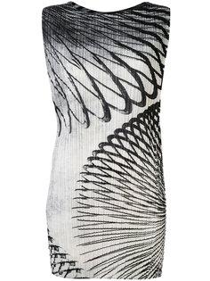 облегающее платье с рисунком Pleats Please By Issey Miyake