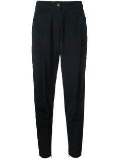 укороченные брюки с молниями на щиколотках  Barbara Bui