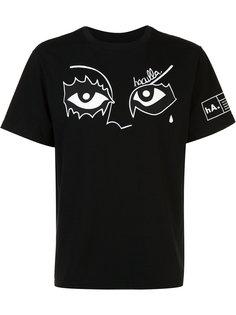eye print T-shirt  Haculla
