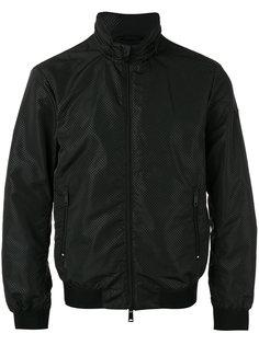 куртка-бомбер с узором из точек Armani Jeans
