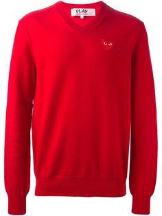 свитер с логотипом  Comme Des Garçons Play
