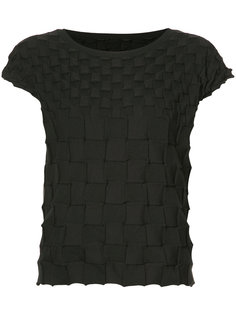 Pierrot Knit blouse Pleats Please By Issey Miyake