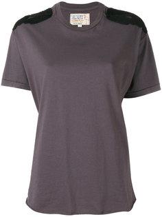футболка со вставками на плечах  R13
