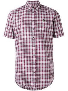 рубашка в шотландскую клетку Dsquared2