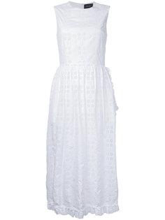 вышитое платье Simone Rocha