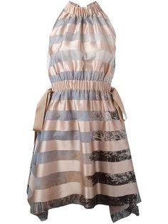 платье в полоску Fendi