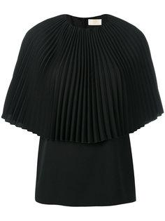блузка с плиссировкой Sara Battaglia