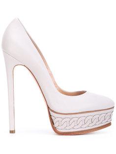 туфли на платформе Casadei