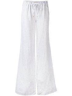 брюки в тонкую полоску  Michael Michael Kors