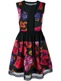 платье шифт без рукавов  Alberta Ferretti