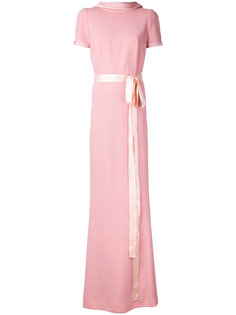вечернее платье с короткими рукавами Paule Ka