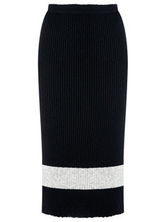 ribbed knit midi dress Gig