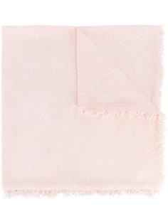 винтажный шарф с бахромой Eleventy