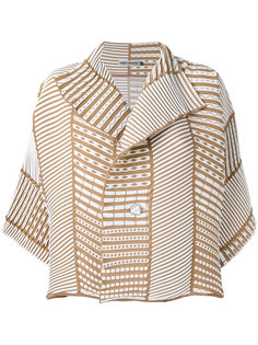 ribbed detail jacket  Issey Miyake