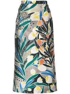 юбка с декорацией из кристаллов Rochas