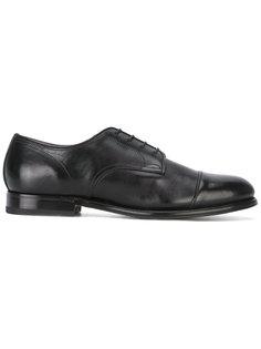классические туфли из дубленой кожи  Silvano Sassetti