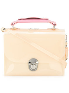 high-shine cross body bag Julien David