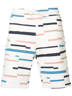 Marty broken stripe shorts Wesc