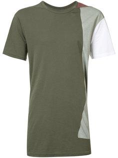patch panelled T-shirt 11 By Boris Bidjan Saberi