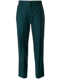 укороченные брюки со складками Paul Smith
