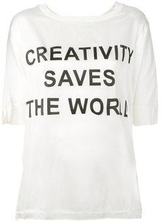 футболка с надписью  Twin-Set