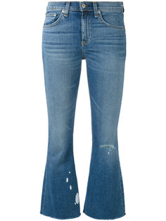 flared cropped jeans Rag & Bone /Jean