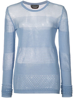 panelled knit top Rochas