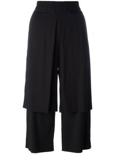 double layer cropped trousers Aalto