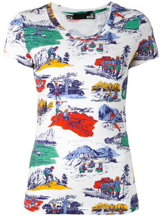 футболка с принтом  Love Moschino