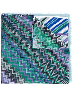 шарф с зигзагообразным узором Missoni